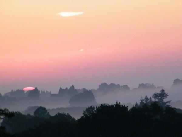 Sunrise at St Nicolas des Eaux, Morbihan by erichoulder