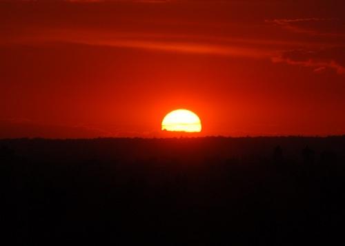Sunset over Surrey by nikonhammer