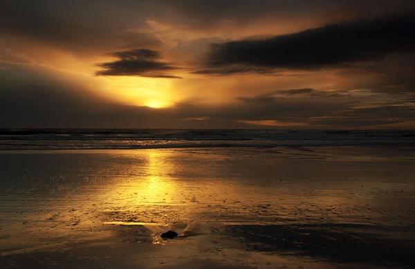 Sunrise at Spittal by MelanieB