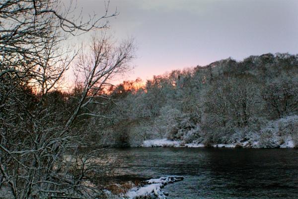Cooled River by PaultWebster
