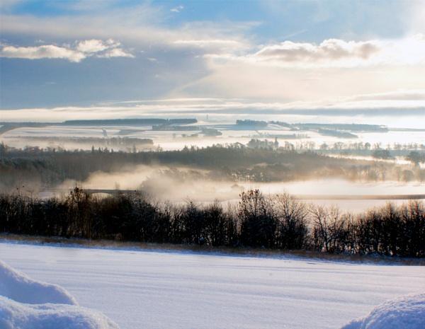 frozen fog by PaultWebster