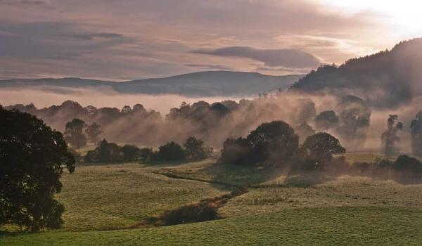 Valley of mist. by Pixellie