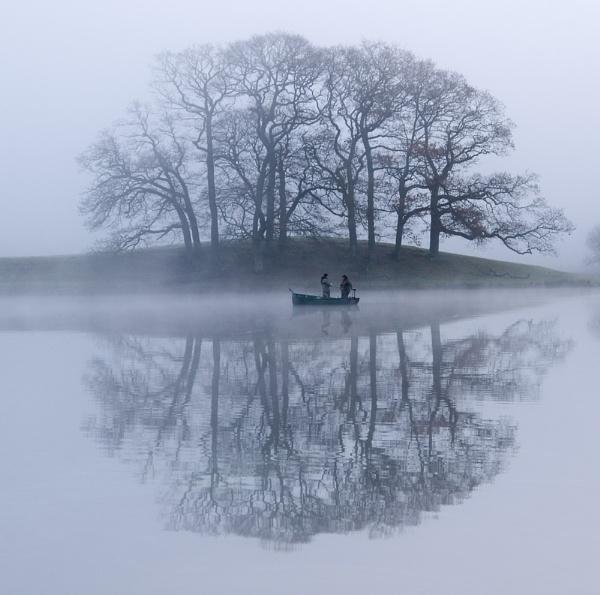 Esthwaite mists by barrovian