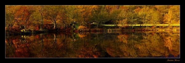 Autumn Mirror by ColouredImages