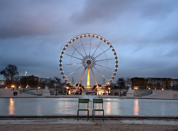 Big Wheel Paris by icmonster