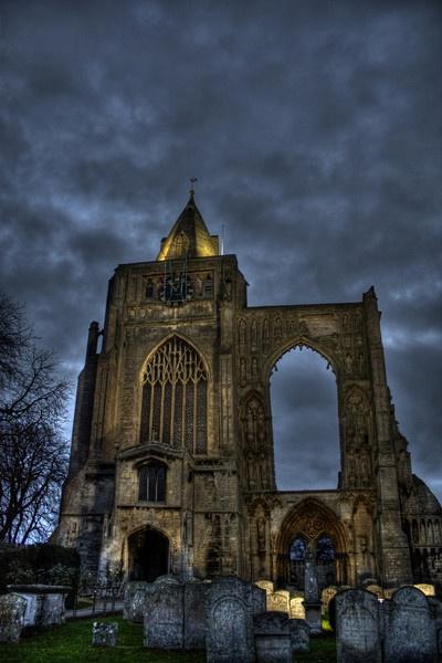 Croyland Abbey by ShopTilYouDrop