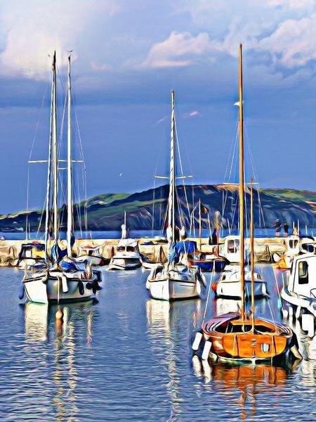 Lyme Regis Harbour by SarahKate