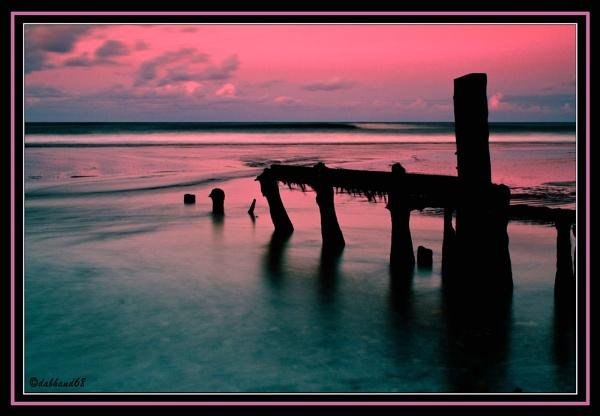 Seaside Sunset by dabhandphotographics