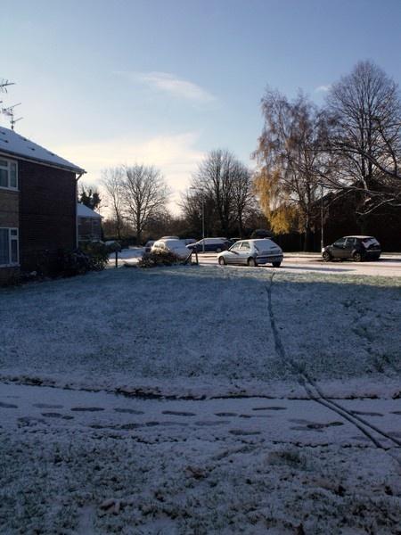 Snow in Norfolk by kforeman