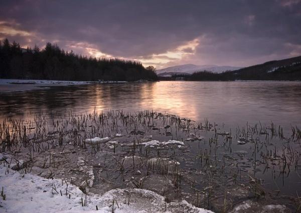 Frozen Loch by pdove