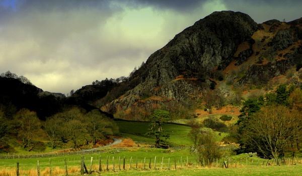 Langdales in Autumn by hughsey
