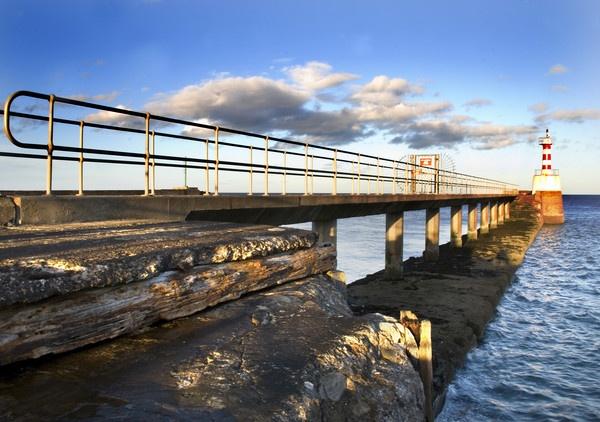 Amble Pier by nstewart