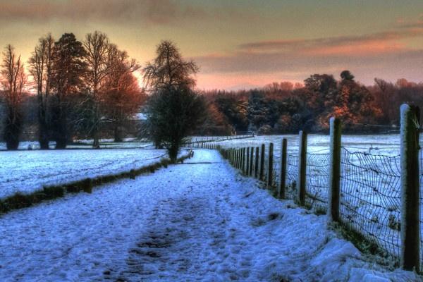 Sunset lane by Beladd