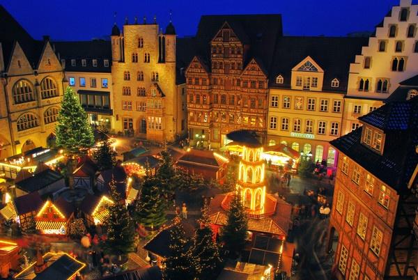 Christmas Market Hildesheim 2010 by gabriel_flr
