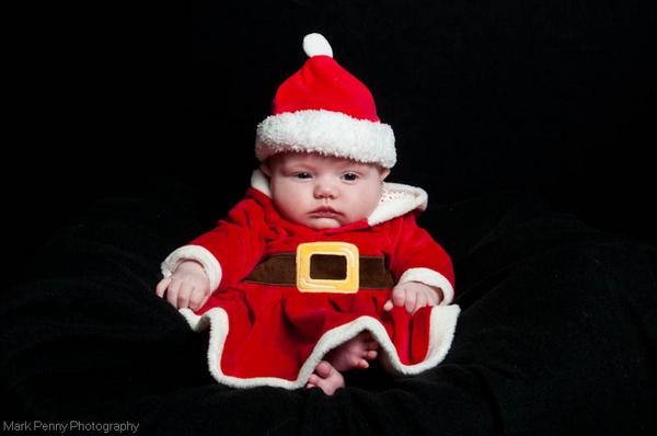 Mini Santa by Gertmint