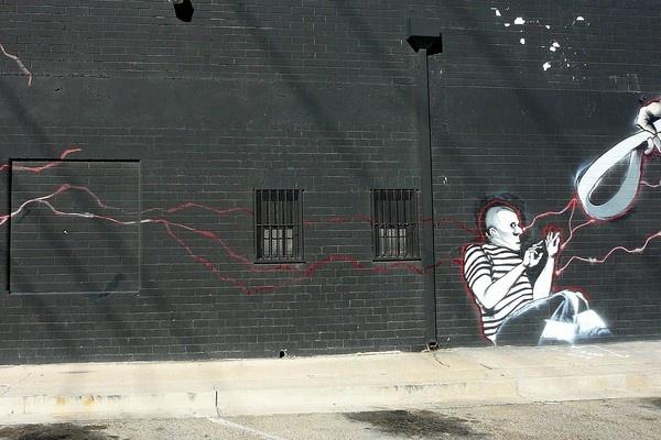 black wall by jammbulator