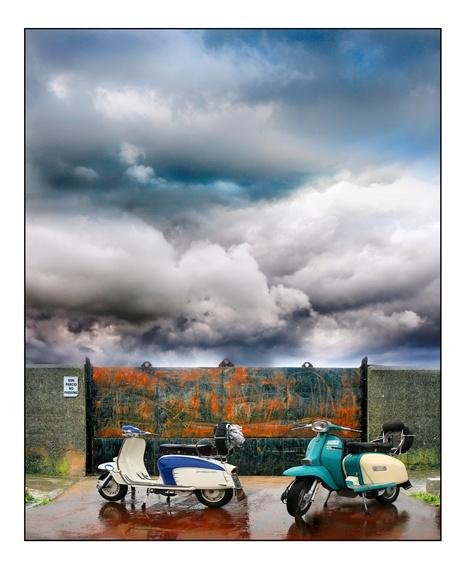 Lambretta Scooters by mookey