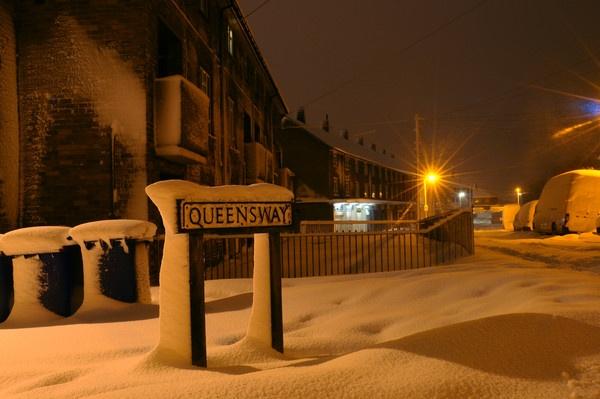 Queensway Under Snow by NicholasGray