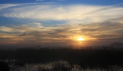 Norfolk Sunrise by oldbiddy