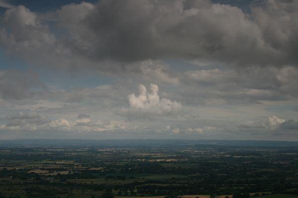 Evesham Vale Skyscape by BobbyHB