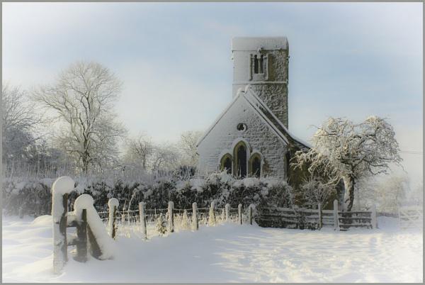 Still snowing by Nettles