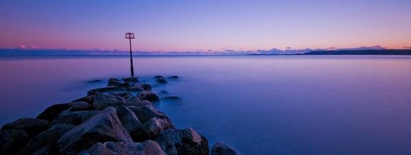 Sea Wall by Macromania