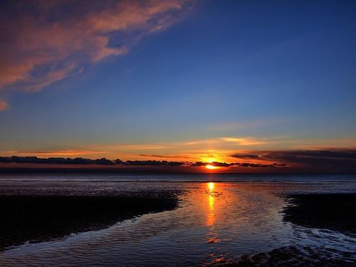 Icy Sunset by Fluke