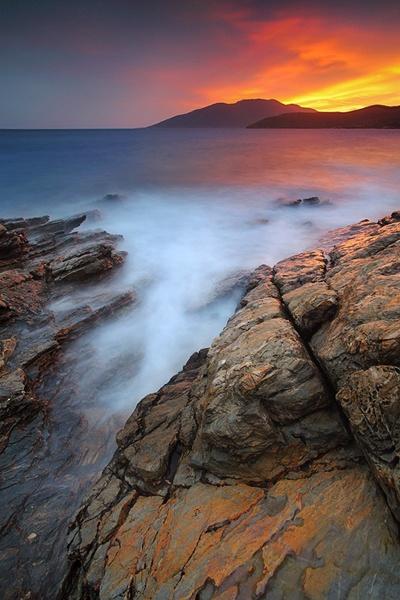 Southern sunset by kani