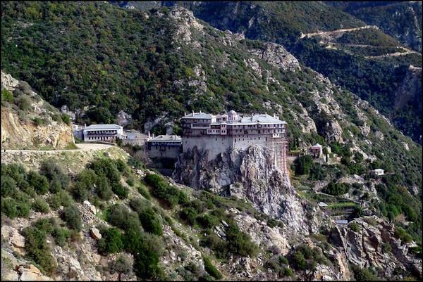 Mount Athos Greece by WimdeVos