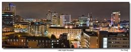 Leeds Night Panorama