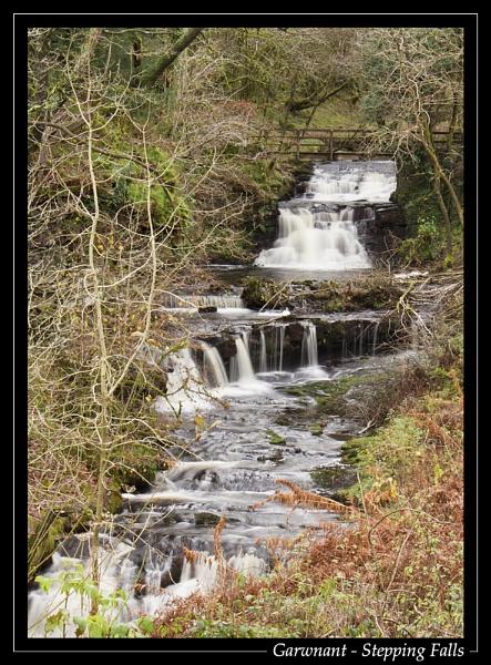 Garwnant - Stepping Falls by jjmorgan36
