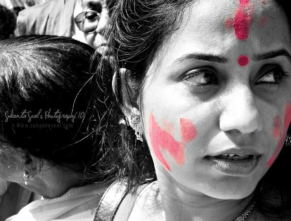 """""""Sindur Khela"""" (The Vermilion Game) by sukantaseal"""