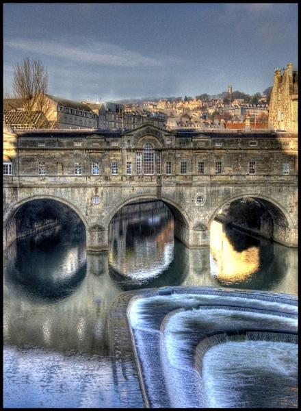 Baths Bridge by RickyRossiter