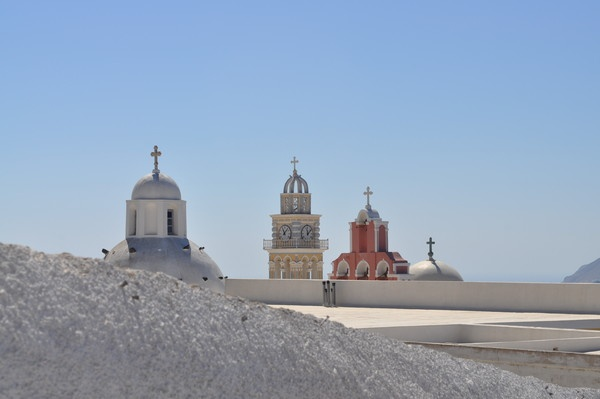 Bell Towers in Fira by Markus_Brehm