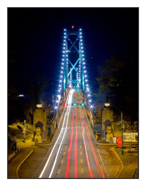 Lions Gate Bridge by shush