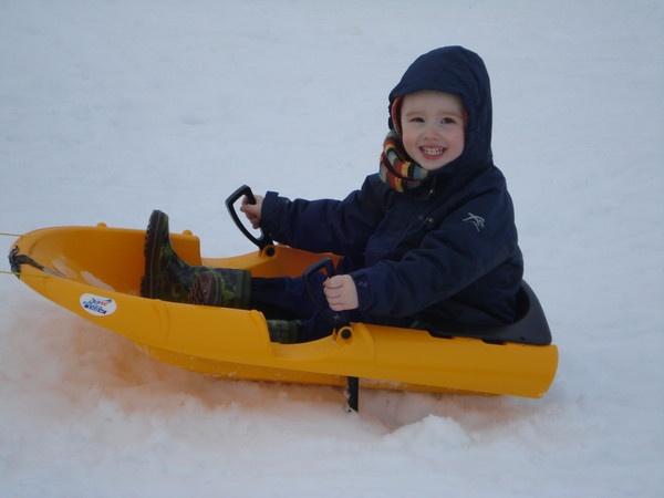 Snow fun by sapphy