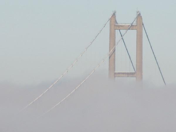 Humber Bridge in the Mist by Steve3671