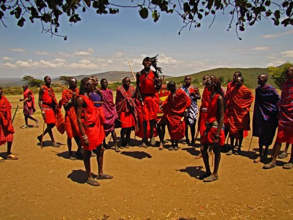 Masai Tribal Dance by Steve3671
