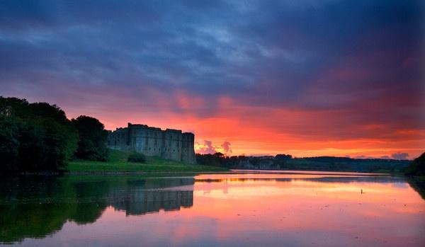 Carew Castle by Macromania
