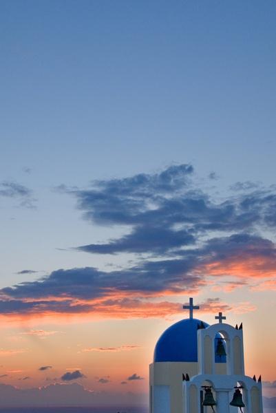 Santorini Sunrise by Macromania