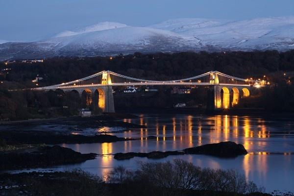 Menai Bridge by Red_Herring