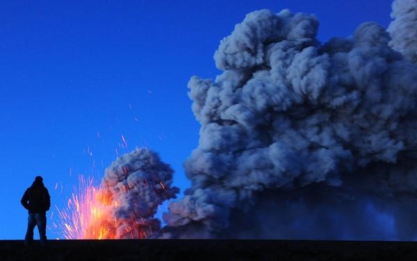 Eyjafjallajokull volcano Iceland by afairfull