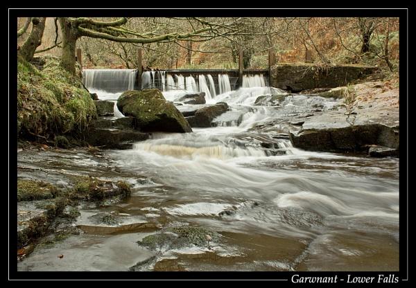 Garwnant - Lower Falls by jjmorgan36