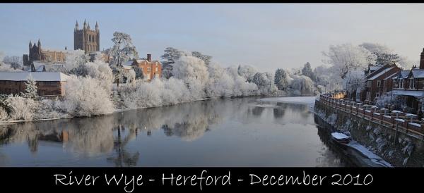 River Wye-Hereford-December 2010 by maroondah