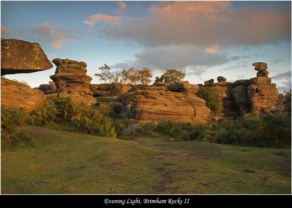 Evening Light, Brimham Rocks II by DaveMead
