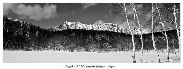Togakushiyama by Ezo