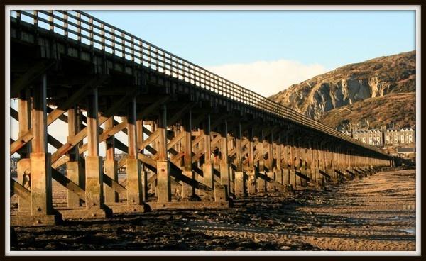 Barmouth Railway bridge by Spangle2008