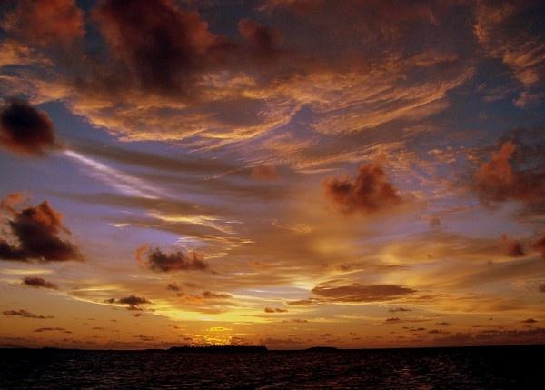 Maldives Night Sky by Sabredog