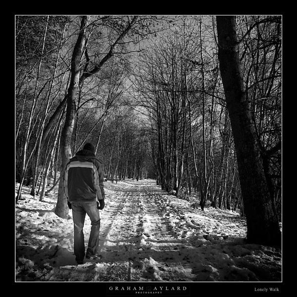 Lonely Walk by Graham_Aylard