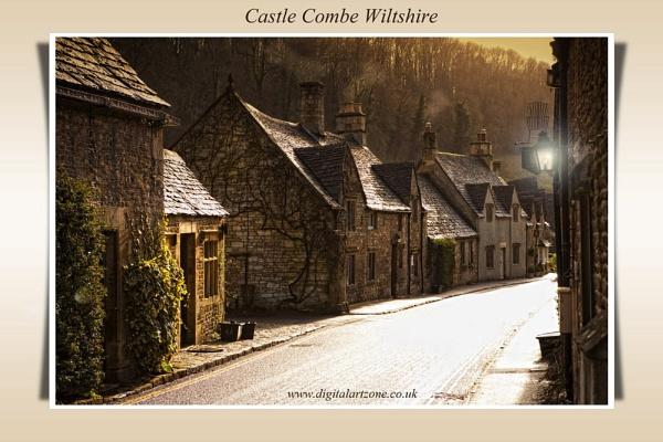Castle Combe Wiltshire by danob
